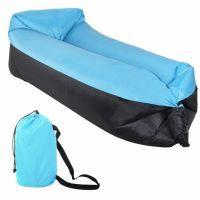 Sezlong gonflabil Lazy Bag Sofa Duo Blue Springos
