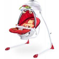 Caretero - Leagan electric cu scaun rotativ Bugies Red