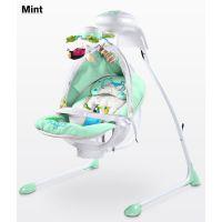 Caretero - Leagan electric cu scaun rotativ Bugies Mint