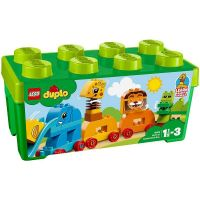 Lego Duplo Prima mea cutie de caramizi cu animale L10863