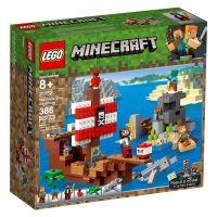 Lego Minecraft  Aventura corabiei de pirati L21152