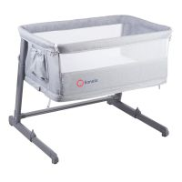 Lionelo - Patut Co-Sleeper 3 in 1  Toon Grey
