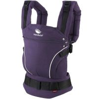 Marsupiu ergonomic Manduca First PureCotton Purple