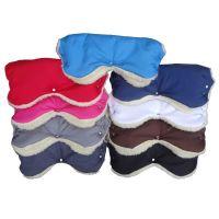 Manusi pentru carucior cu interior lana Camicco rosu