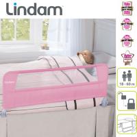 Lindam - Margine de siguranta pliabila 95 cm Roz