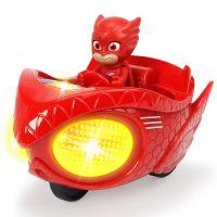 Masina Eroi in pijama Mission Racer Owlette cu figurina Dickie Toys