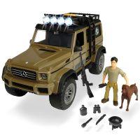 Set masina Playlife Ranger Mercedes-Benz AMG 500 4x4 cu accesorii Dickie Toys