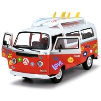 Masina Volkswagen Surfer Van cu accesorii Dickie Toys