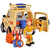 Masina Simba Fireman Sam Tom`s 4x4 cu accesorii