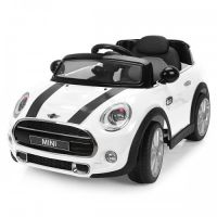 Chipolino - Masinuta electrica Mini Cooper Hatch White