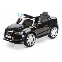 Masinuta electrica Toyz Audi A3 2x6V Black cu telecomanda
