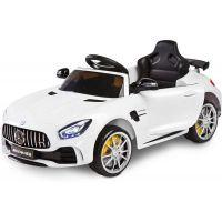 Masinuta electricaToyz Mercedes AMG GTR 2x6V White