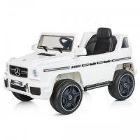 Chipolino - Masinuta electrica cu telecomanda Suv Mercedes Benz G63 White