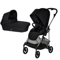 Cybex - Carucior 2 in 1 Melio Deep Black