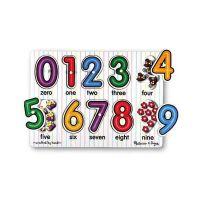 Melissa & Doug - Puzzle lemn Cifre
