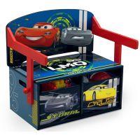 Delta Children - Mobilier 2 in 1 pentru depozitare jucarii Disney