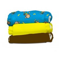 Charlie Banana - Set economic 3 scutece textile Monkey Doo