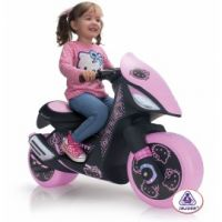 Injusa - Motocicleta electrica Hello Kitty 6V