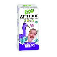 Attitude - Scutece ecologice de unica folosinta marime 1-2
