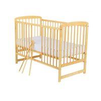 Baby Needs - Patut din lemn Ola Natur