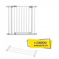 Hauck - Poarta Siguranta Open'n Stop Gate + extensie 21 cm