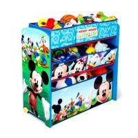 Delta Children - Organizator jucarii cu cadru din lemn Mickey