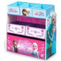Delta Children - Organizator jucarii cu cadru din lemn Frozen