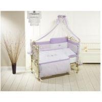 Lenjerie de pat Feretti Sestetto Long -Orsetti Violet/White