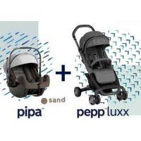 Nuna - Sistem modular 2 in 1 Pepp Luxx cu bara + Pipa + adaptori
