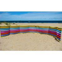 Paravan pentru plaja pliabil 10 m multicolor Springos