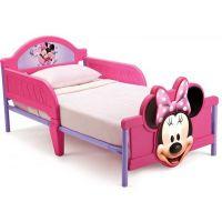 Delta Children - Pat cu cadru metalic Minnie Mouse