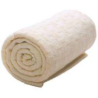 Wallaboo - Paturica Eden Natural lana fina merino 70x90 cm