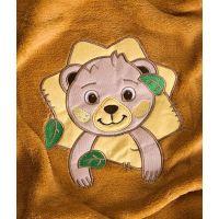 Sensillo - Paturica Forest Animals 100x75 cm Brown