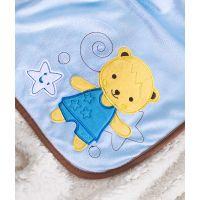 Sensillo - Paturica Sweet Bears 100x75 cm Blue