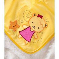 Sensillo - Paturica Sweet Bears 100x75 cm Yellow