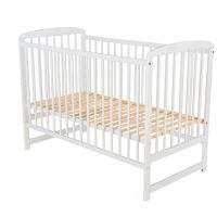 Baby Needs - Patut din lemn Ola 120x60 cm