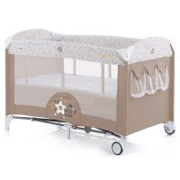Patut pliabil co-sleeping Chipolino Merida caramel