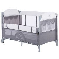 Patut pliabil  co-sleeping Chipolino Merida graphite