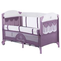 Patut pliabil co-sleeping Chipolino Merida orchid