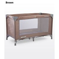 Caretero - Patut pliant Basic Brown