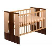 Klups - Patut lemn cu trei nivele reglare Paula natur