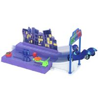 Pista de masini Eroi in Pijamale Night Mission Dickie Toys