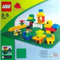 Lego Duplo placa de baza verde