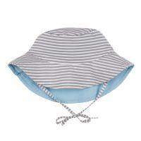 Lassig - Palarie soare copii cu doua fete 6-18 luni UPF50+ Stripes