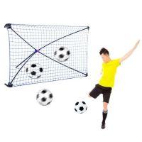 Poarta de fotbal pliabila Rebound cu unghi ajustabil