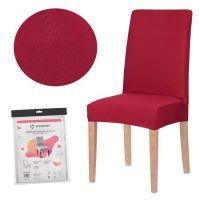 Husa scaun universala din spandex Rosu