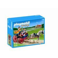 Playmobil - Trasura cu cai