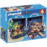 Playmobil - Set mobil insula piratilor