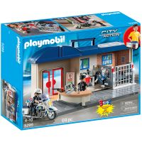 Playmobil - Set Mobil Sectie De Politie