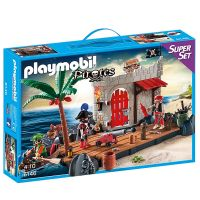 Playmobil - Super set - insula piratilor
